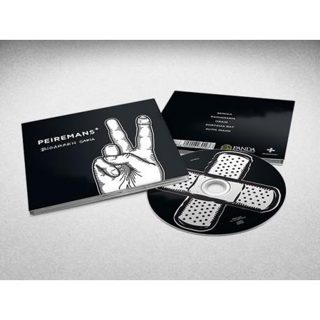 "Peiremans+ ""Bigarren Saria"" CD (2016)"