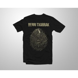 'Infra Tour' black t-shirt
