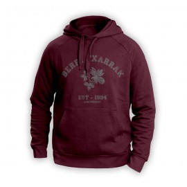BACK TO SCHOOL sudadera granatea