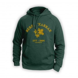 BACK TO SCHOOL sudadera berdea (botila kolorea)
