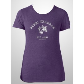 BACK TO SCHOOL girly shirt (purple) FITTED