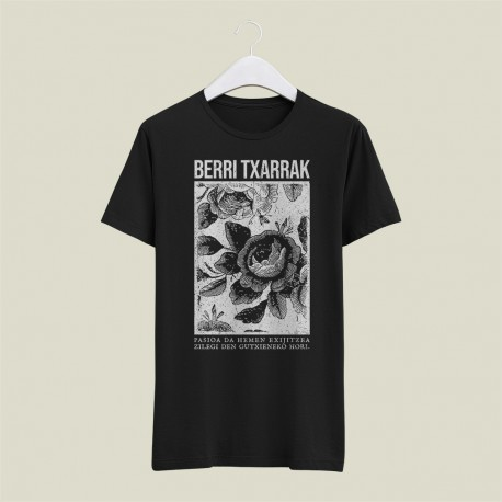 'PASSION' black t-shirt