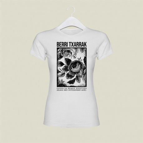 "'PASSION' white ""girly"" t-shirt"