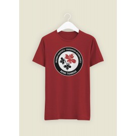 ANTIFA camiseta ROJA (Cardinal Red)