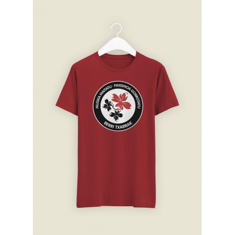 Antifa Cardinal Red t-shirt