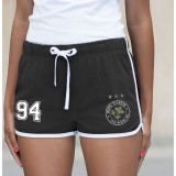 RETRO styled Racing Striped Athletic SHORTS