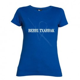 HARIA blue t-shirt FITTED