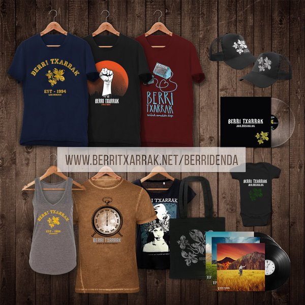 BRAND NEW STUFF IN OUR OFFICIAL ONLINE STORE (BERRIDENDA)
